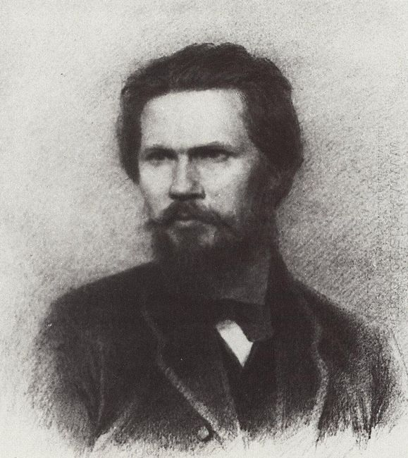 portrait of ivan kramskoi