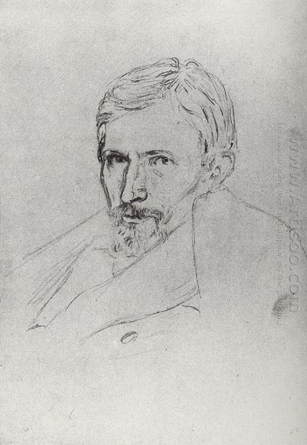 portrait of viktor vasnetsov
