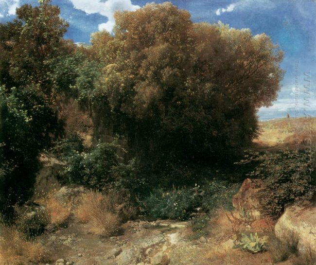 campagna landscape 1858