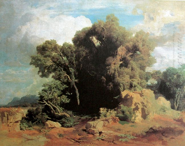 on the pontine swamps 1851