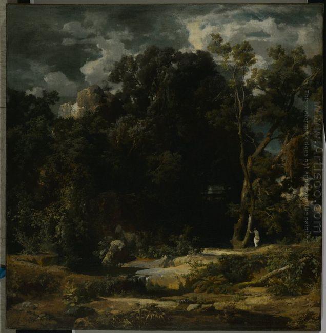 roman landscape 1852