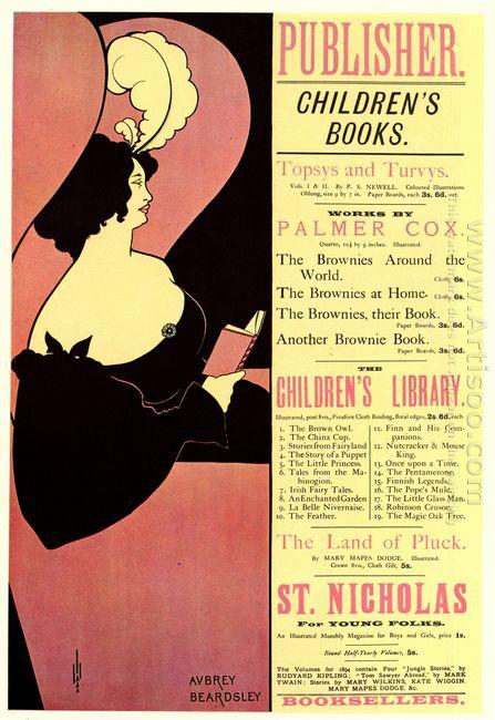advertisement for children s books 1894