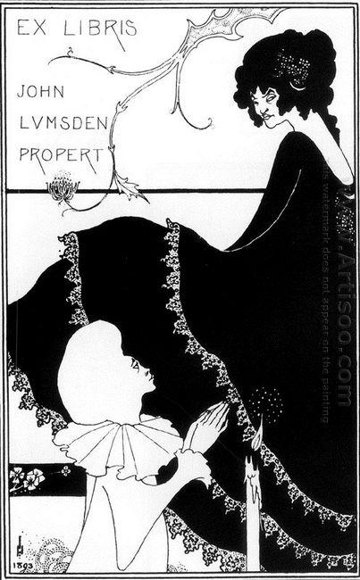 ex libris by john lumsden propert 1894