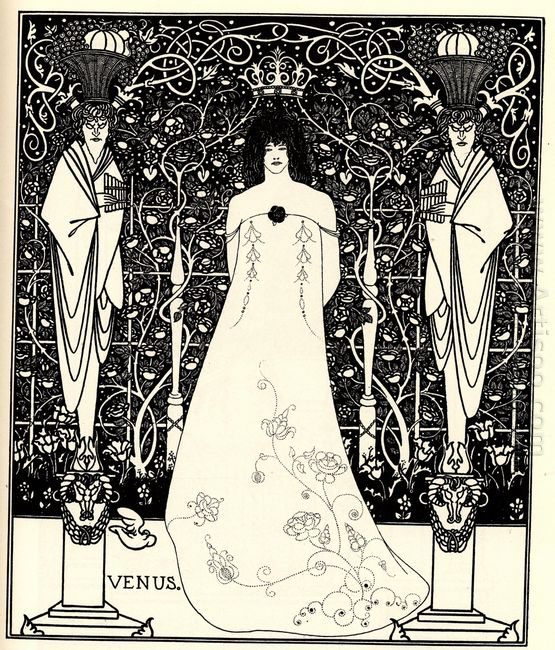 frontispiece for venus and tannhauser