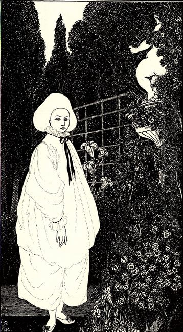 frontispiece to the pierrot of the minute 1897