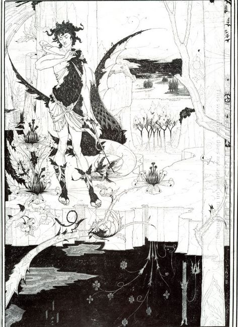 illustration to siegfried act ii