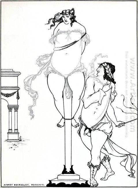 juvenal scourging woman