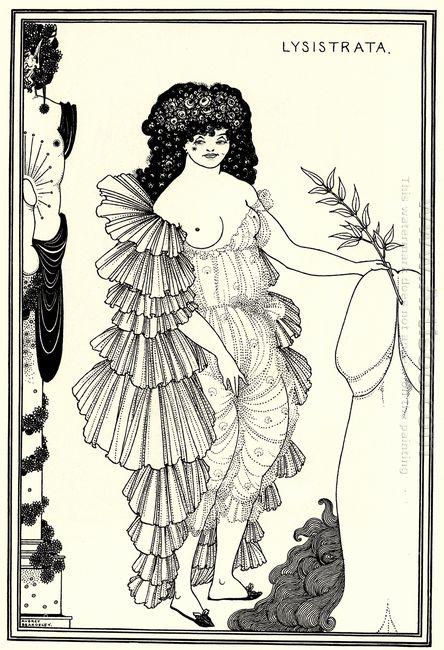 lysistrata shielding her coynte 1896