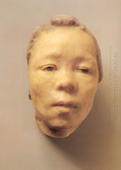 mask of hanako the japanese actress 1911
