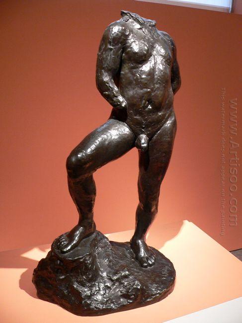 nude study for balzac