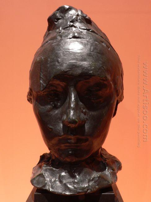 portrait of camille claudel with a bonnet 1886