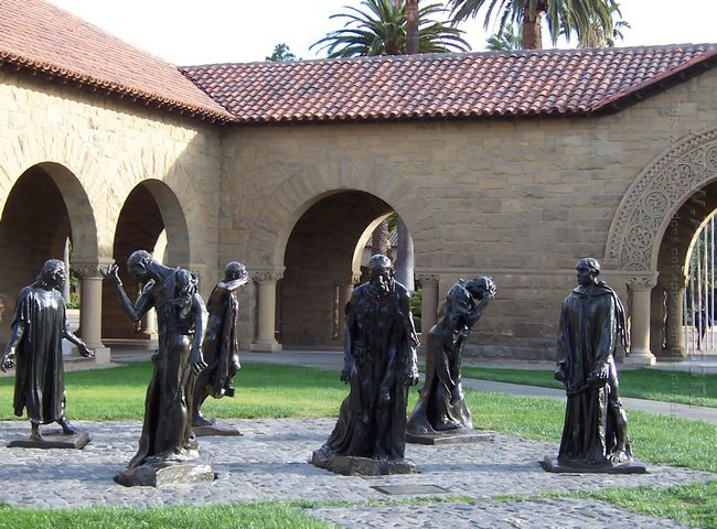 the burghers of calais 1889