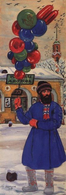 A Balloon Seller 1915