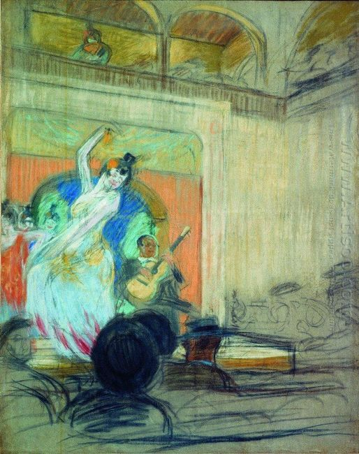 A Dancer In A Cabaret 1904