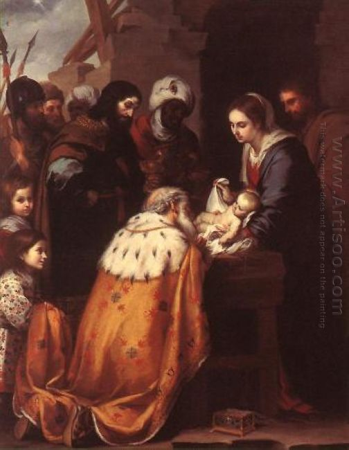 Adoration Of The Magi 1660