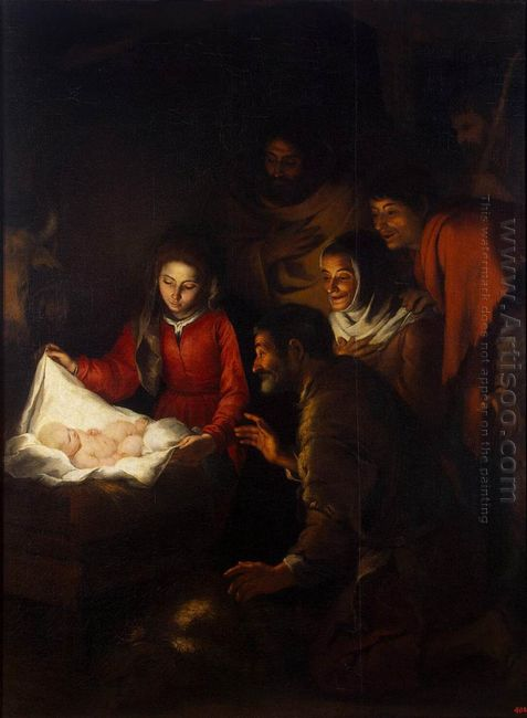 Adoration Of The Shepherds 1650
