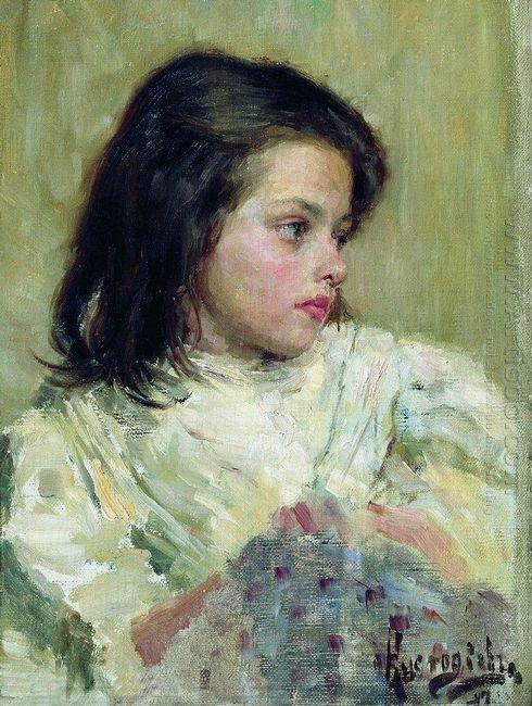 A Girl Sketch 1897