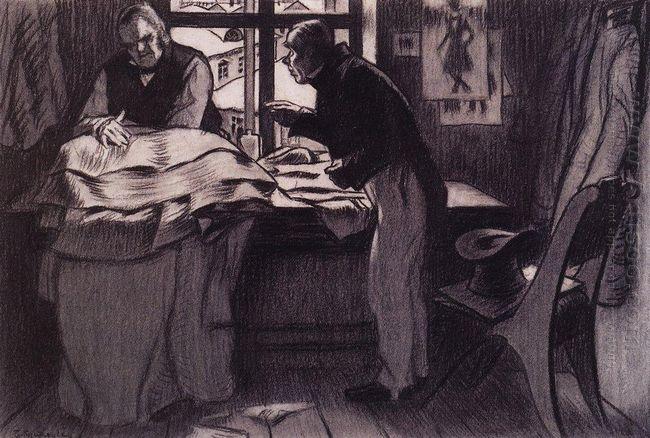 Akaky Akakiyevich Visiting Petrovich 1905