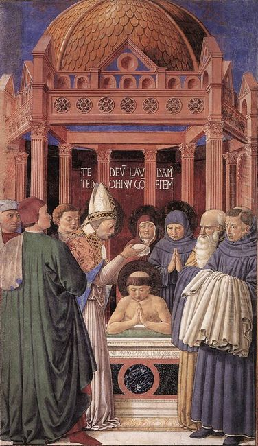 Baptism Of St Augustine 1465