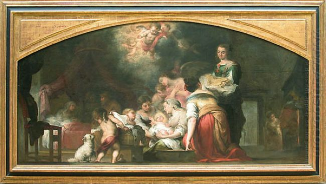 Birth Of The Virgin 1660