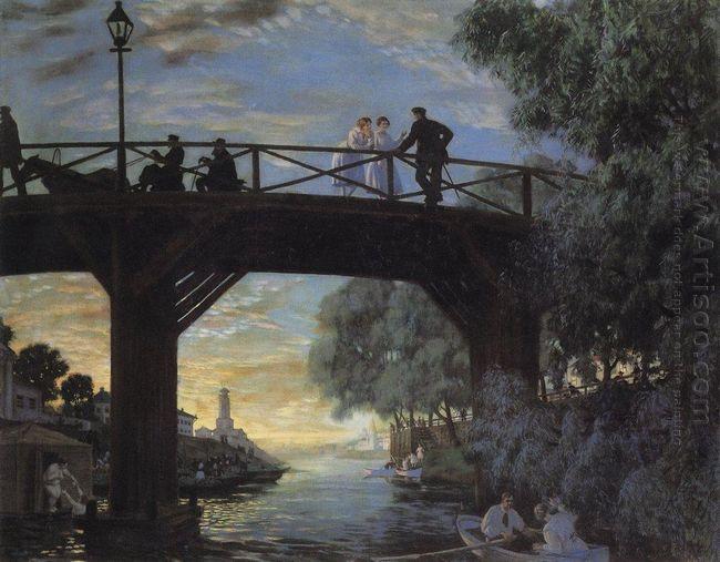 Bridge Astrakhan 1918