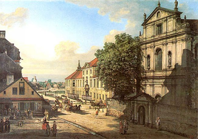 Bridgettine Church And Arsenal 1778