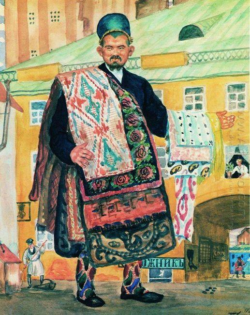 Carpet Seller Tatar 1920