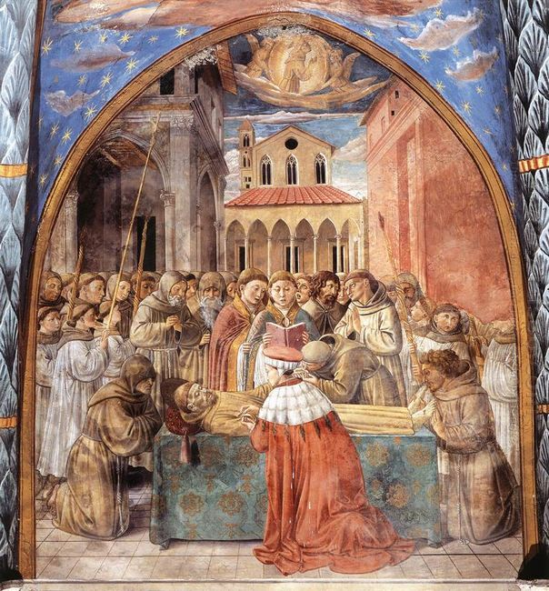 Death And Ascention Of St Francis