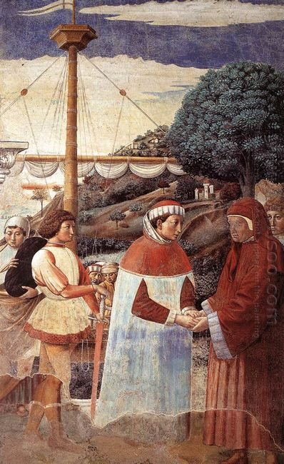 Disembarkation At Ostia 1465