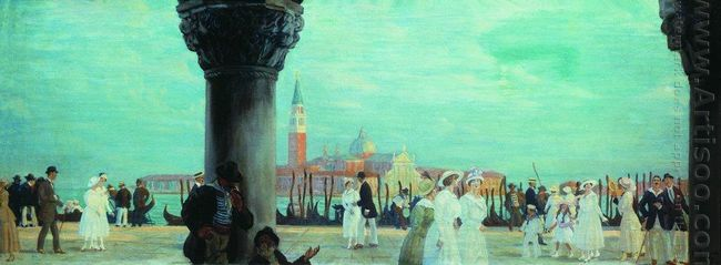 Embankment Of Venice 1918