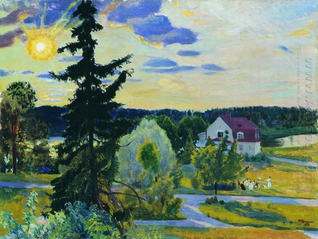 Evening Landscape 1917