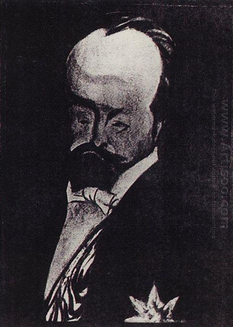 Finance Minister V N Kokovtsoff 1906