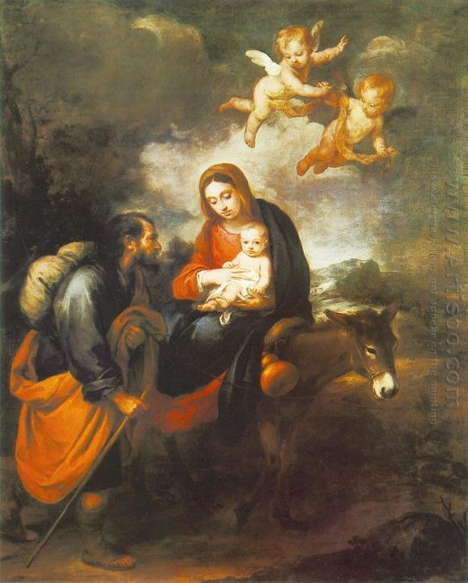 Flight Into Egypt 1660