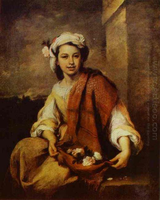 Flower Seller 1670