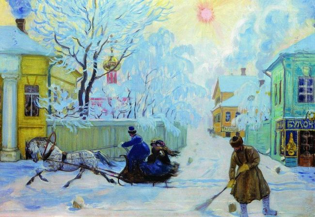 Frosty Morning 1913