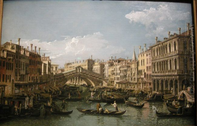 Grand Canal View From North 1738