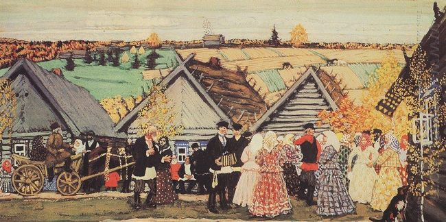 Holiday In The Countryside 1907