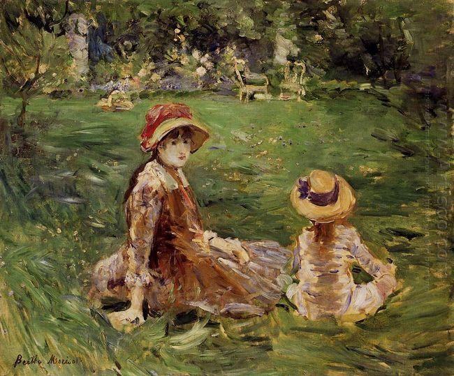 In The Garden At Maurecourt