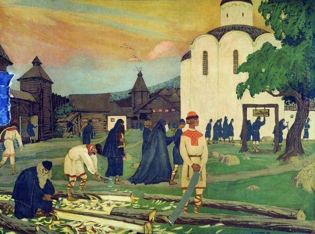 In The Monastery 1907