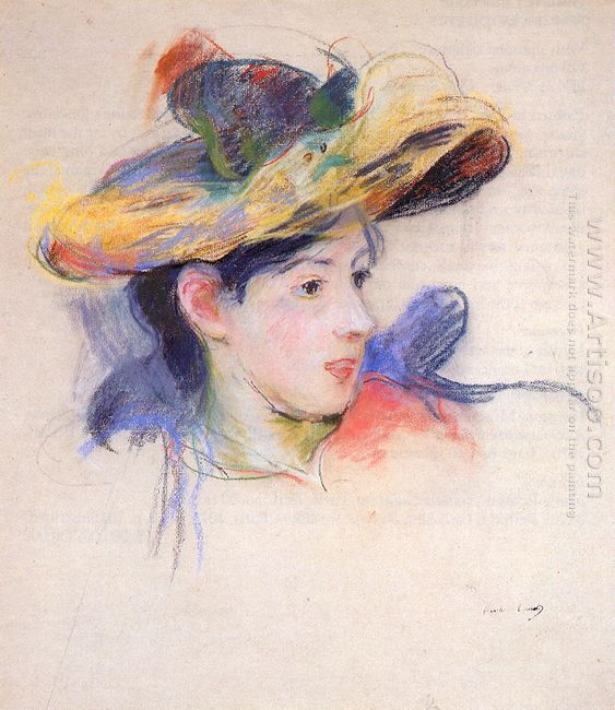Jeanne Pontillon Wearing A Hat