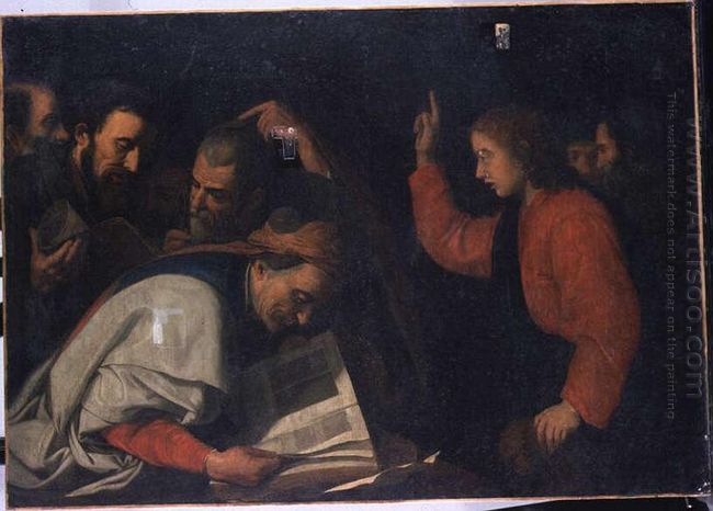 Jesus Among Doctors 1630