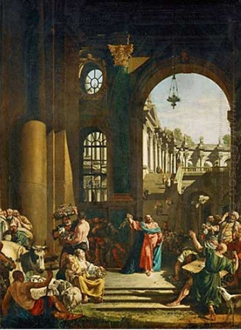 Jesus Cleansing The Temple 1773