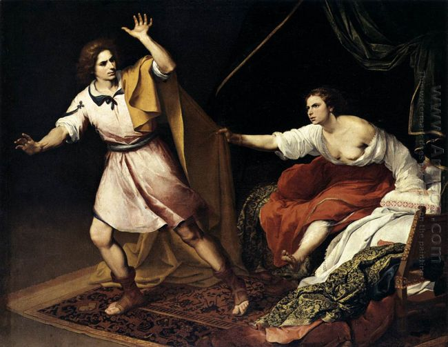 Joseph And Potiphar S Wife 1648