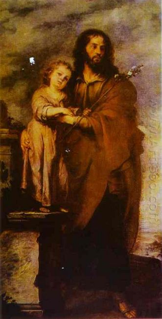 Joseph With Infant Chris 1666
