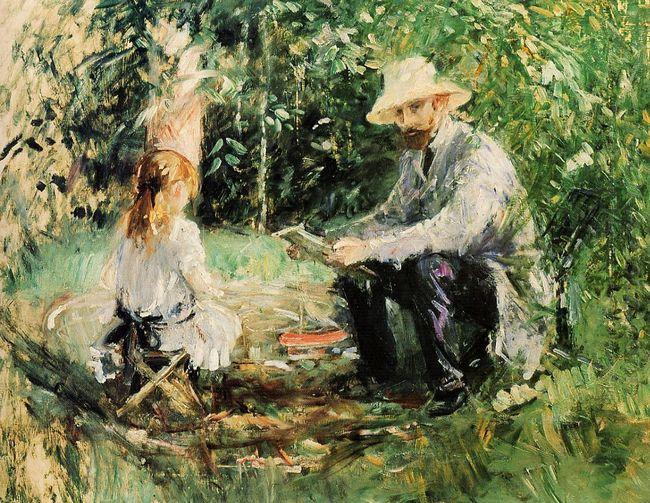 Julie And Eugene Manet 1883