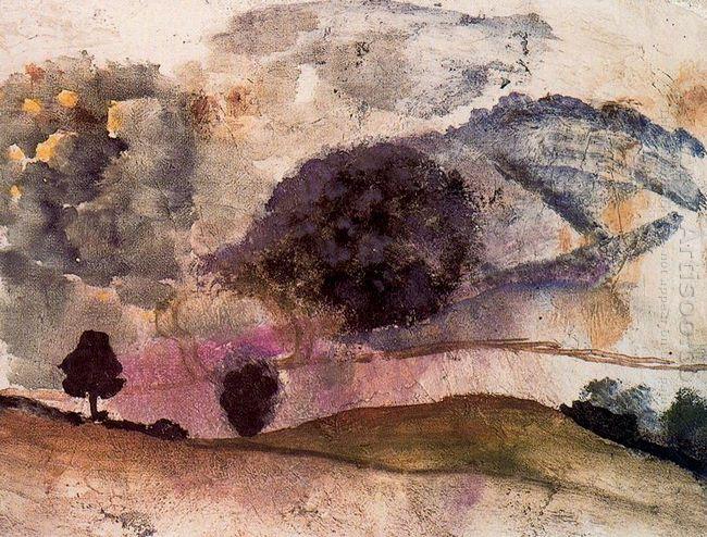 Landscape In Morvan 1955