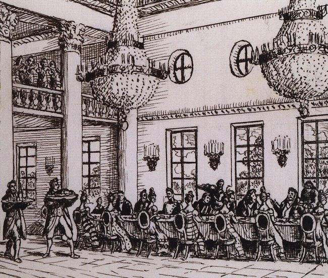 Lunch At Troyekurov 1919