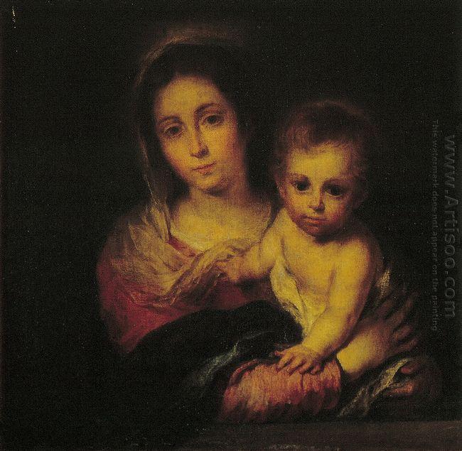 Madonna With A Napkin