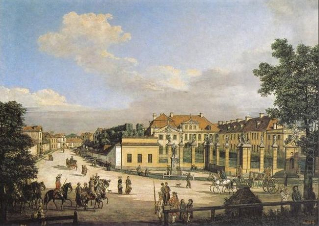 Mniszech Palace In Warsaw 1779