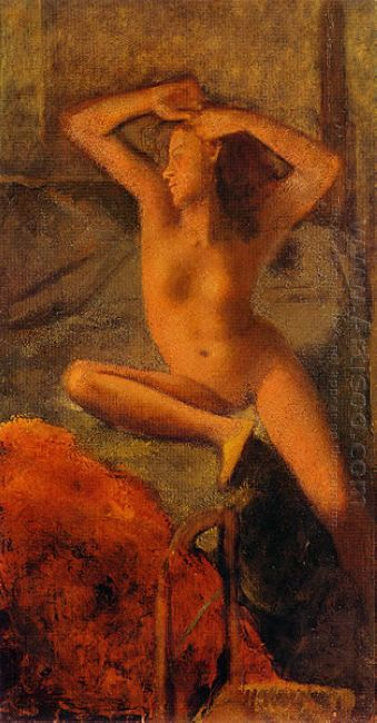 Nude With Her Arms Raised 1951